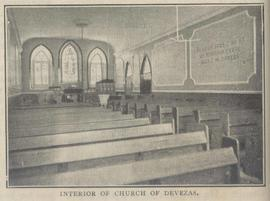 Interior of church of Devezas